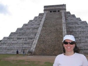 staci at chichen itza1 300x225