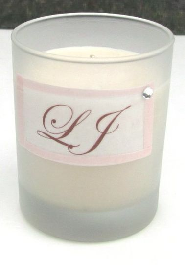 Personalized Soy Candle