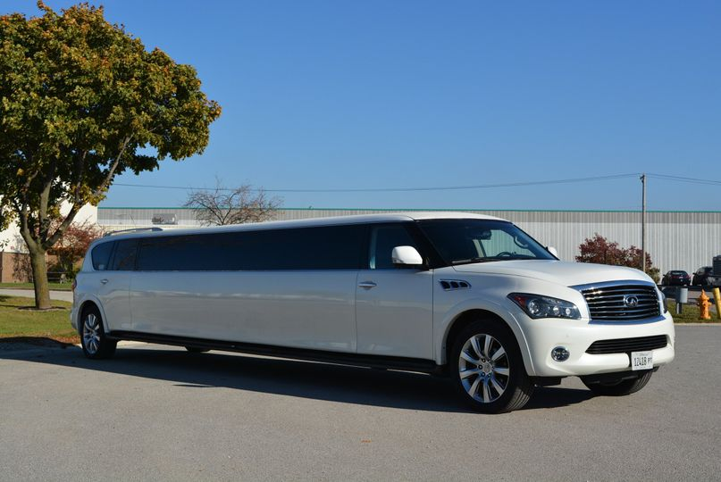 Limo on the streets