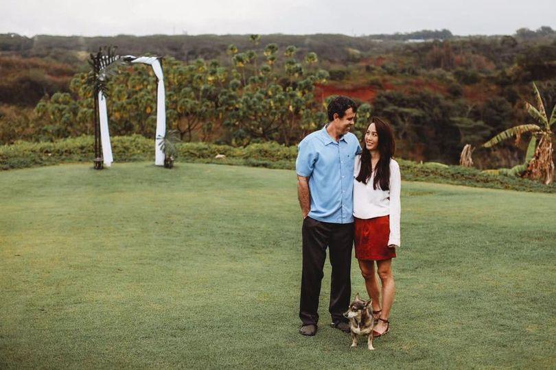 Owners of Hawaii Vista Weddings