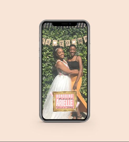 Bridal Shower Snapchat Filter