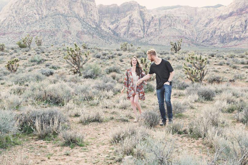 samjess norinakaye lasvegas desert engagementphoto