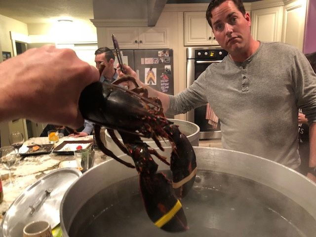 Lobster cooking class