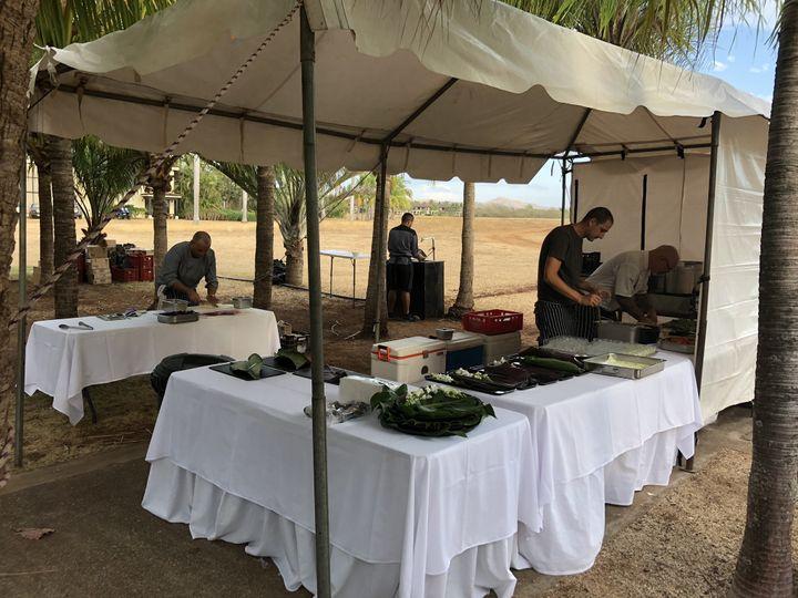 Beach outdoors kitchen Tent