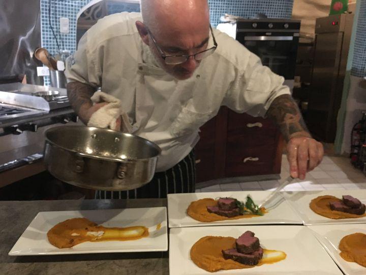Chef Torsten at work