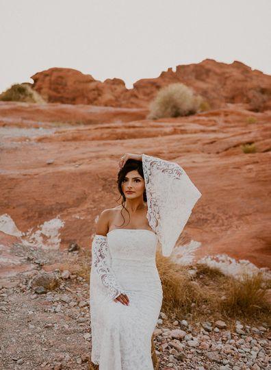 Nevada Boho Bride