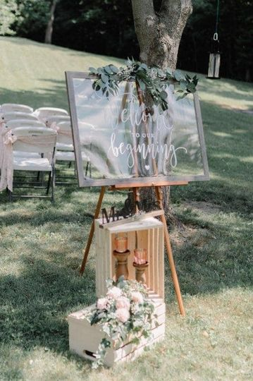Welcome arrangement