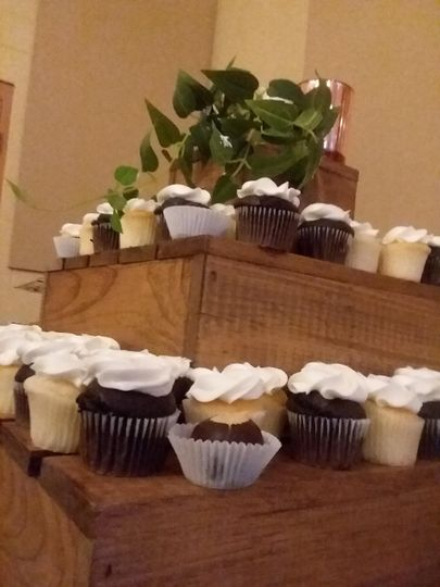 Cupcake tower for prom