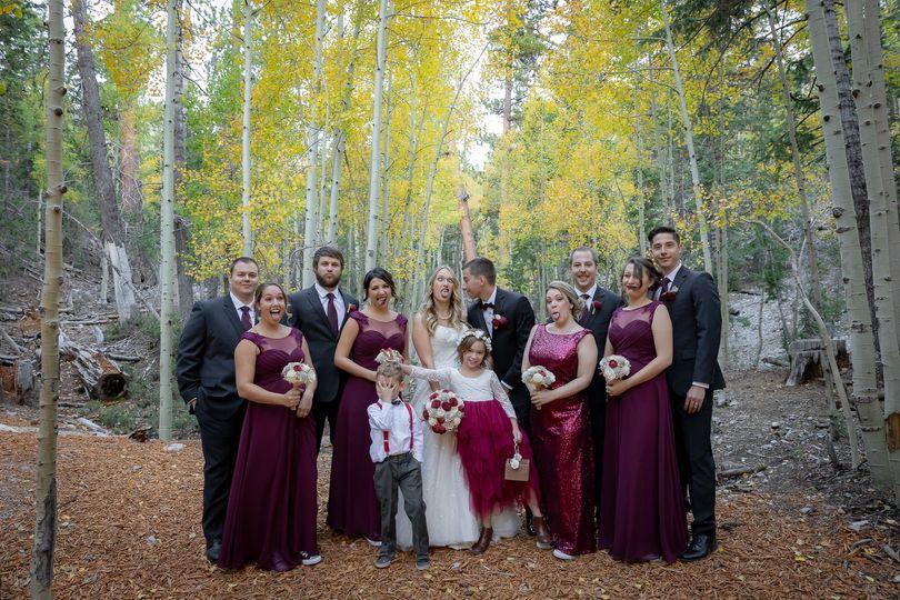 Lee Canyon Wedding
