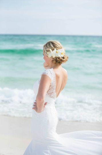 Beachy bride