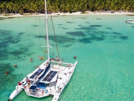 Boat trip to Saona Island