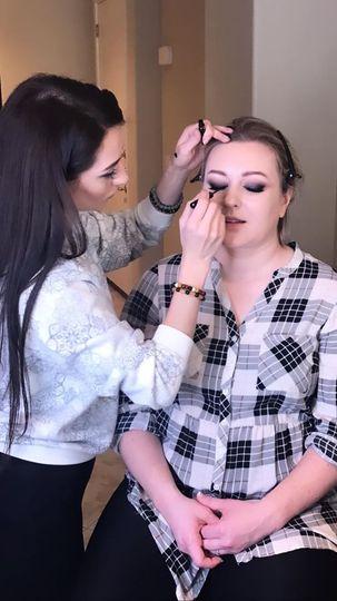 Perfecting the eyeshadow