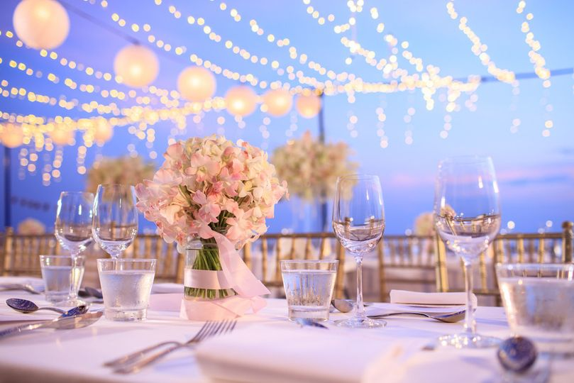 newsouth event rentals flowers glasses