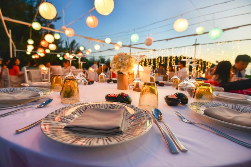 newsouth event rentals table flatware plates 1