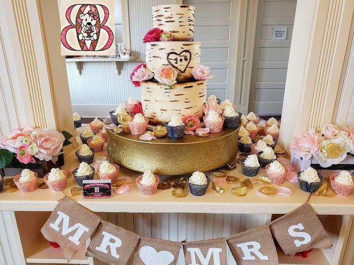 Tmx Tree Bark Wedding 51 1008059 1565577877 Frisco, Texas wedding cake