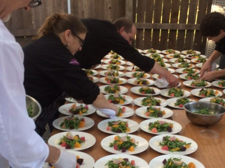 Tmx 1521612985 Bf78ab311969b847 1521612984 9533cafa04924cbd 1521612976931 3 Plated Salad Guerneville, CA wedding catering