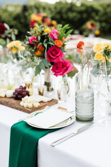 Table setting - Amy Nicole Photography