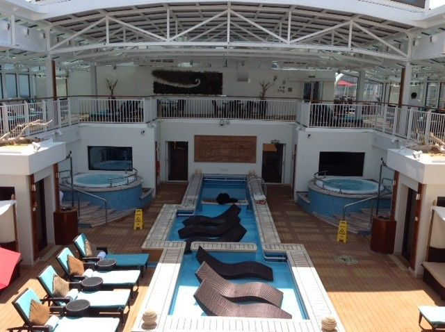 NCL - Breakaway The Haven - peace and tranquility