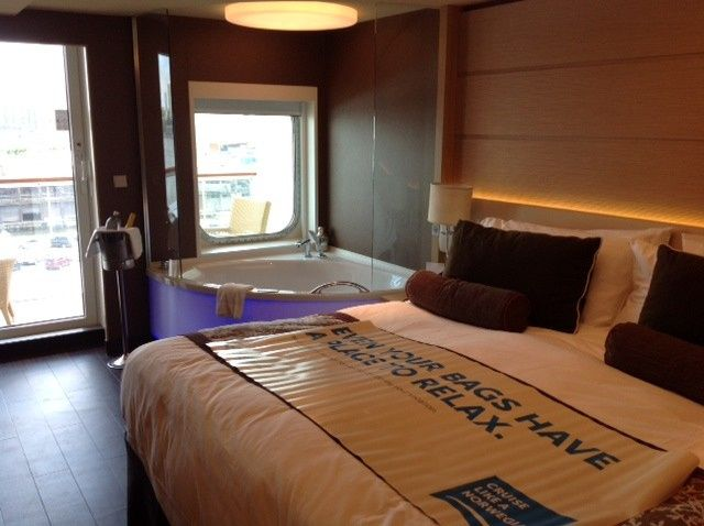 NCL - Breakaway Spa suite - perfect for the honeymoon