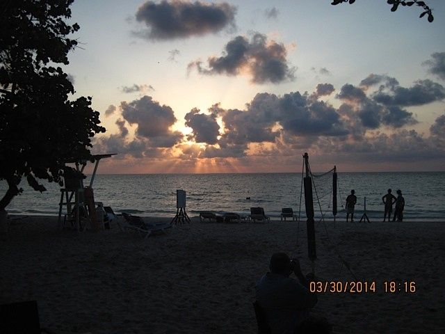 Tmx 1404136620712 Sunset From Grand Pineapple Beach Bar Harleysville wedding travel