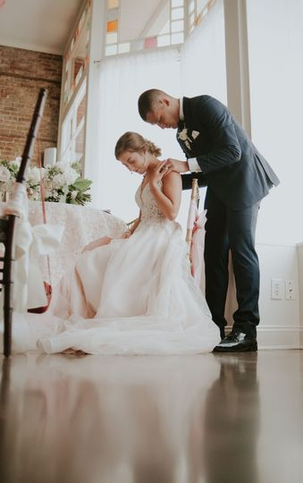 The newlyweds | Mackenzie Becker Photography