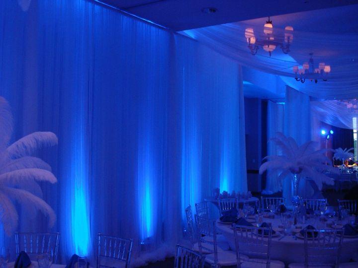 Ballroom Draping/Lighting