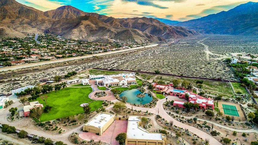 The Pond Estate - Aerial Photo, 12 acres