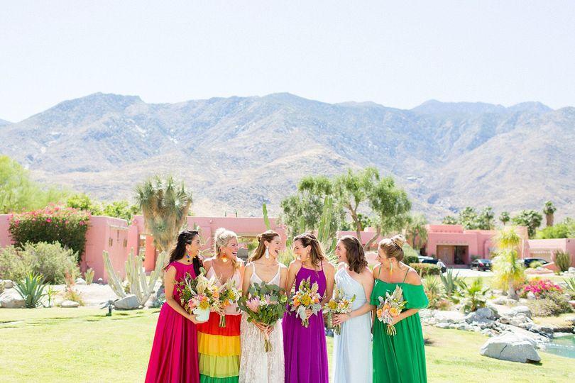 Stunning Bridesmaids at The Pond Estate