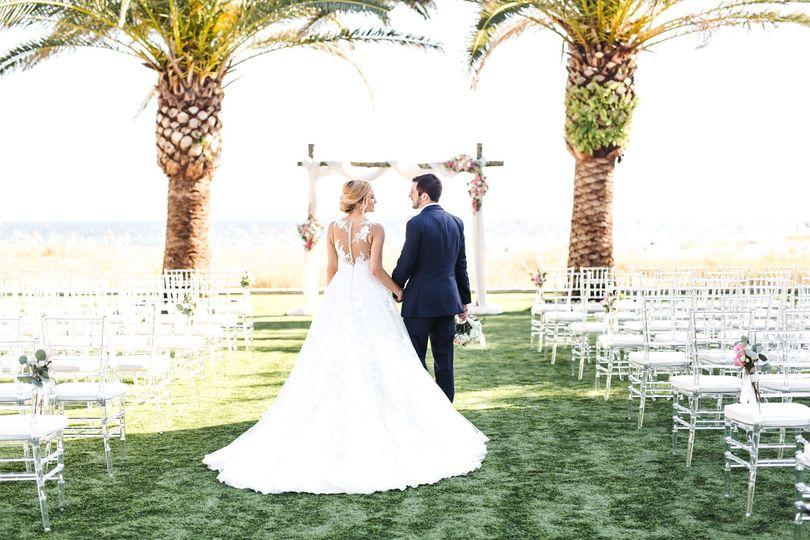 The Island Green Wedding