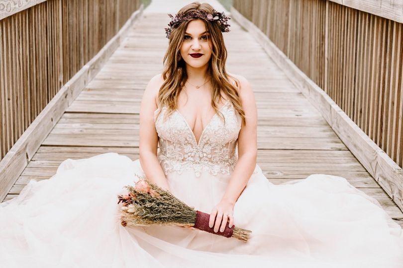 Boho-chic wedding photos