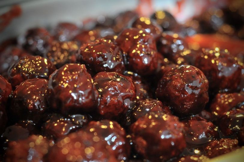 appetizers raspberry chipotle meatballs