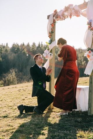 On one knee - Darbey Delaney Photography