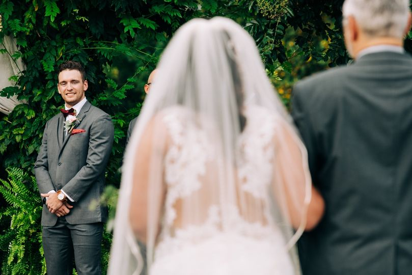 The first look - Darbey Delaney Photography