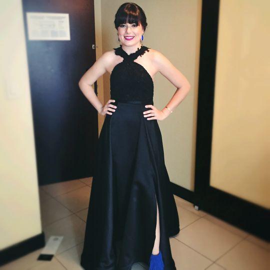 traje negro boda