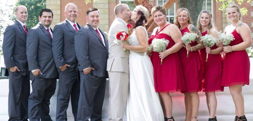 Firefighter wedding at Spohn