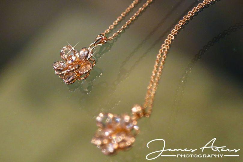 Bride's necklace