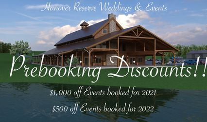 Hanover Reserve Weddings & Events 1