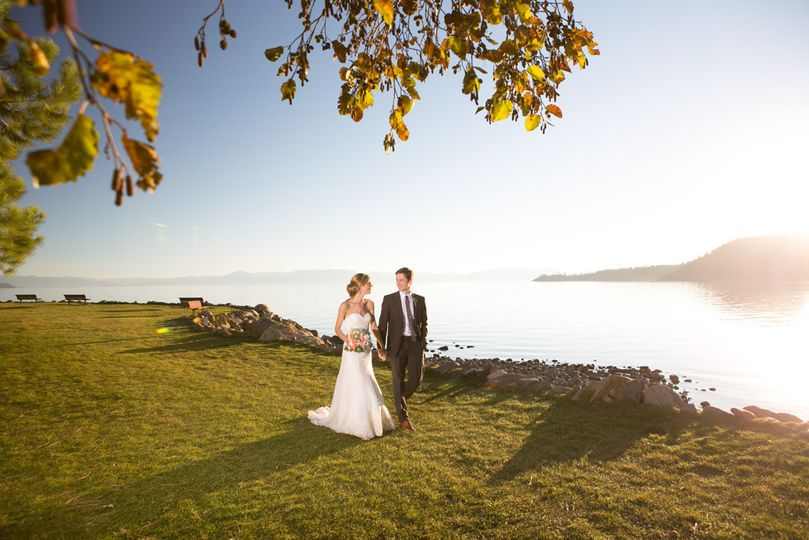 The Chateau Incline Village wedding photo