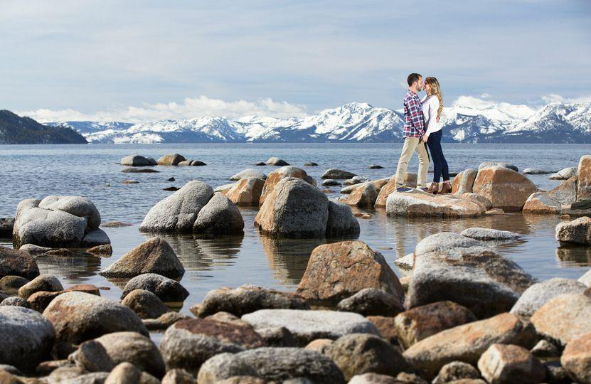 Engagement photos Lake Tahoe