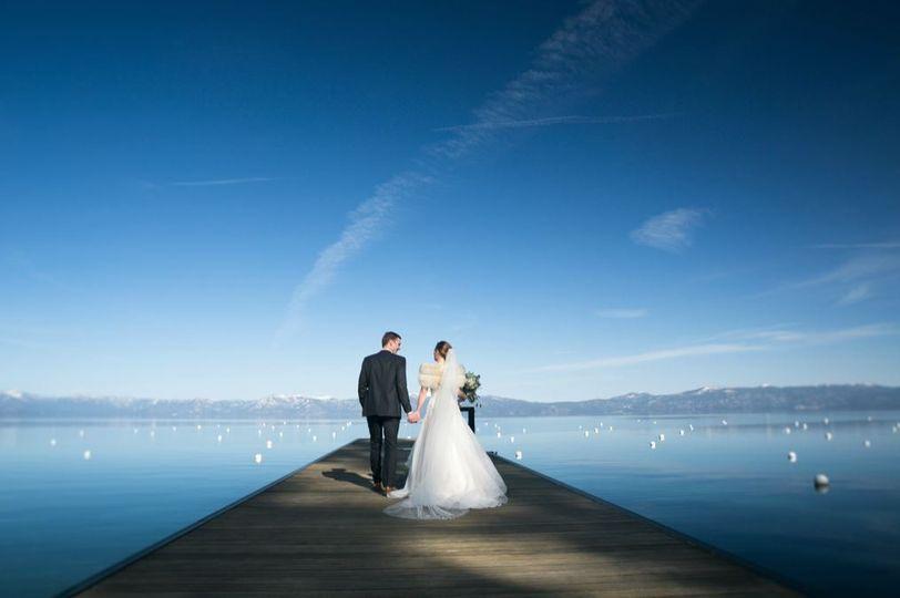 West Shore Cafe wedding Lake Tahoe