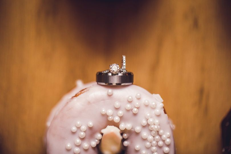 Donuts and wedding rings