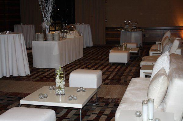 Indoors Wedding reception
