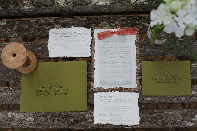 Tmx 1372287408209 Lindsay2 Winter Park, FL wedding invitation