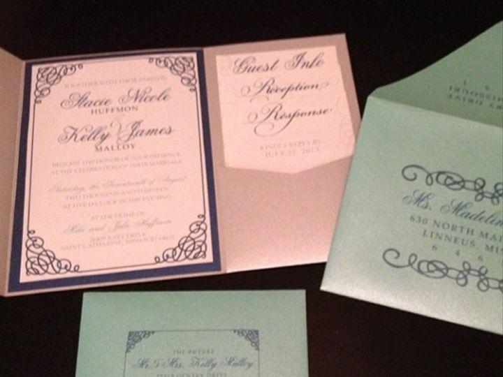 Tmx 1374897077511 Stacieandkelly Winter Park, FL wedding invitation