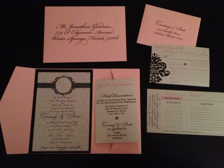 Tmx 1374897089397 Image1 Winter Park, FL wedding invitation