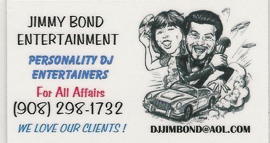 jimmy bond business car