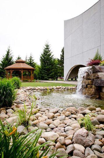 Garden & gazebo area