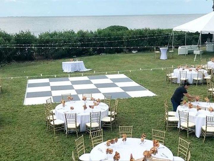 Tmx 20x20 Black And White Dance Floor Rental 51 557159 1568644428 Tampa, FL wedding rental
