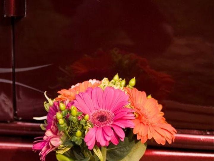 Tmx 1369351925516 Orange Green And Pink Bouquet Simpsonville wedding florist
