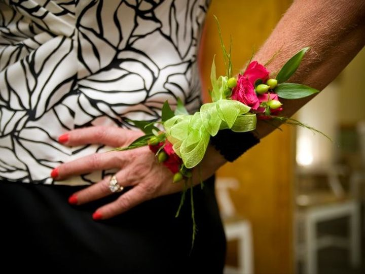 Tmx 1369352019873 Pink And Lime Corsage Simpsonville wedding florist